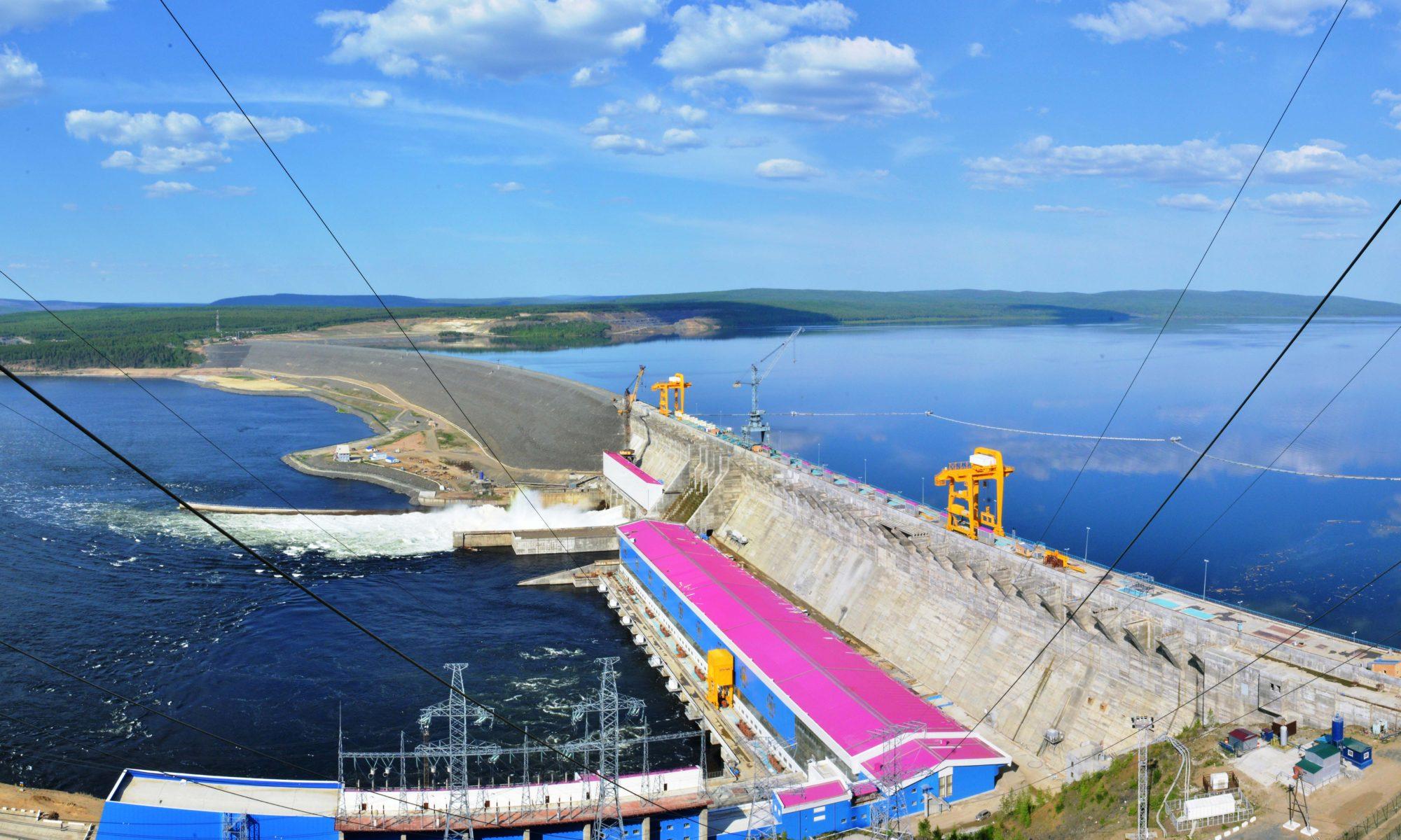 Фото русловая ГЭС