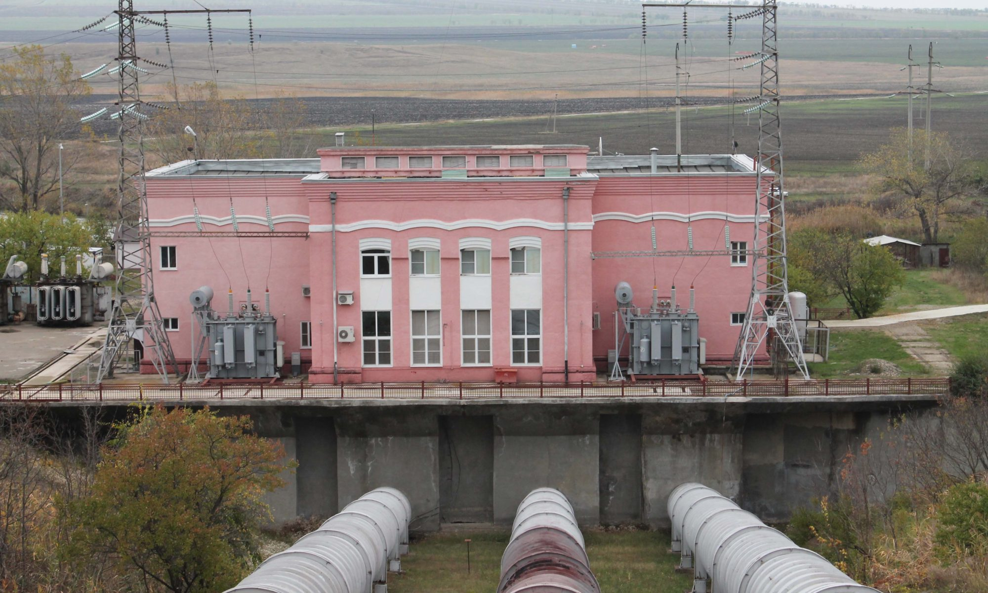 Фото деривационная ГЭС